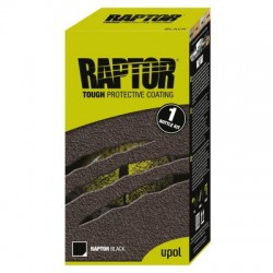 U-POL RAPTOR Bed Liner Coating, Set 1L, Zwart